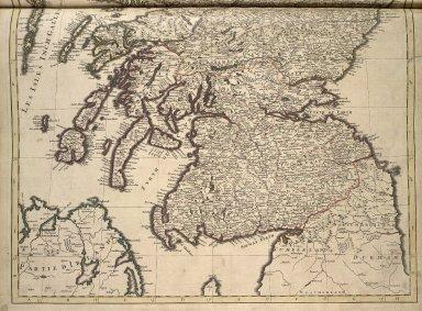 Le Royaume d'Ecosse divisé en parties septrionale et meridionale subdivisé en Provinces ... [2 of 3]