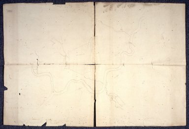 [Unfinished map of the River Clyde from Bothwell Bridge to Evan Bridge (?), Lanarkshire] [1 of 1]