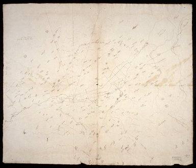 [Map of the area around castle Semple and Lochwinnoch, Renfrewshire, by John Watt] [1 of 1]