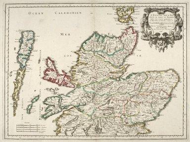 L'Escosse dela le Tay, divisée en toutes ses Provinces: [1 of 1]
