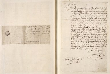 [A collection of ALS to Sir John Scot, Lord Scotstarvet, from W.J. and Joan Blaeu, Amsterdam] [03 of 27]