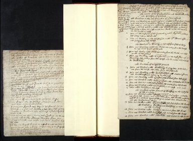 [Drafts in the hand of Sir Robert Sibbald, on Scottish antiquities, history, and topography] [15 of 18]