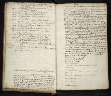 Lists of manuscripts relating to the geography of Scotland belonging to, or seen by, Sir Robert Sibbald [02 of 20]
