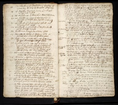 Lists of manuscripts relating to the geography of Scotland belonging to, or seen by, Sir Robert Sibbald [07 of 20]