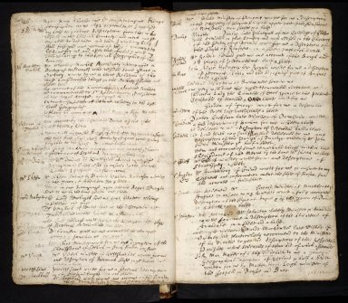 Lists of manuscripts relating to the geography of Scotland belonging to, or seen by, Sir Robert Sibbald [08 of 20]