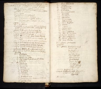 Lists of manuscripts relating to the geography of Scotland belonging to, or seen by, Sir Robert Sibbald [11 of 20]