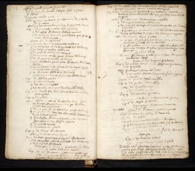Lists of manuscripts relating to the geography of Scotland belonging to, or seen by, Sir Robert Sibbald [12 of 20]