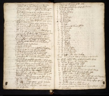 Lists of manuscripts relating to the geography of Scotland belonging to, or seen by, Sir Robert Sibbald [14 of 20]
