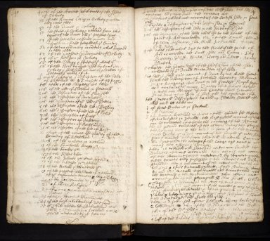 Lists of manuscripts relating to the geography of Scotland belonging to, or seen by, Sir Robert Sibbald [15 of 20]