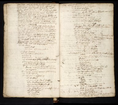 Lists of manuscripts relating to the geography of Scotland belonging to, or seen by, Sir Robert Sibbald [16 of 20]