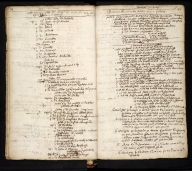 Lists of manuscripts relating to the geography of Scotland belonging to, or seen by, Sir Robert Sibbald [19 of 20]