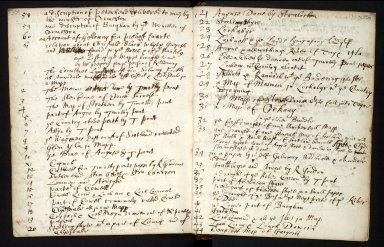 Ane Account of the manuscripts, informations, and printed books sent for compyling the Description of Scotland [4 of 7]