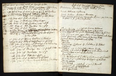 Ane Account of the manuscripts, informations, and printed books sent for compyling the Description of Scotland [5 of 7]