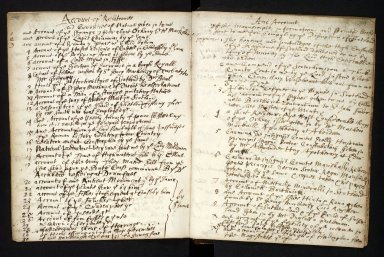 Ane Account of the manuscripts, informations, and printed books sent for compyling the Description of Scotland [1 of 7]