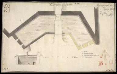 Entrance to ye Castle; No.III; Edinburgh 28 April 1719 [1 of 1]