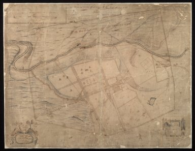 The Hous of Newebiging with gardens, parks and other inclosurs, belonging to Sir John Clerk of Pennycuik [1 of 1]