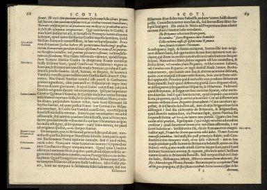 Britannia, sive, florentissimorvm regnorvm, Angliæ, Scotiæ, Hiberniæ, et insularum adiacentium ex intima antiquitate chorographica descriptio [06 of 13]