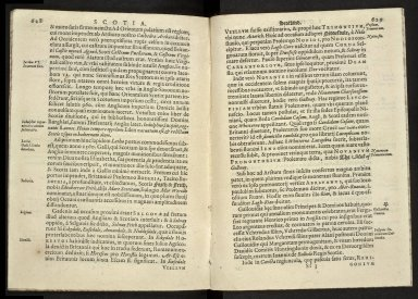 Britannia, sive, florentissimorvm regnorvm, Angliæ, Scotiæ, Hiberniæ, et insularum adiacentium ex intima antiquitate chorographica descriptio [09 of 13]