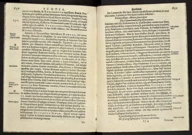 Britannia, sive, florentissimorvm regnorvm, Angliæ, Scotiæ, Hiberniæ, et insularum adiacentium ex intima antiquitate chorographica descriptio [10 of 13]