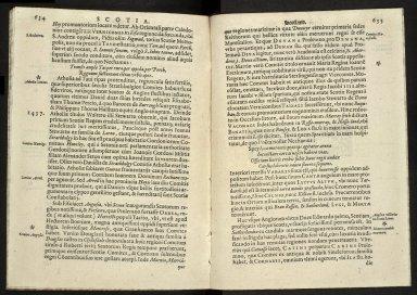 Britannia, sive, florentissimorvm regnorvm, Angliæ, Scotiæ, Hiberniæ, et insularum adiacentium ex intima antiquitate chorographica descriptio [12 of 13]