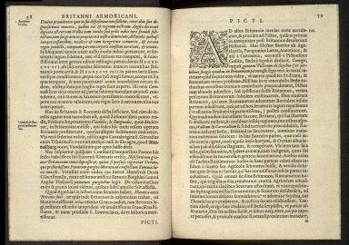 Britannia, sive, florentissimorvm regnorvm, Angliæ, Scotiæ, Hiberniæ, et insularum adiacentium ex intima antiquitate chorographica descriptio [01 of 13]