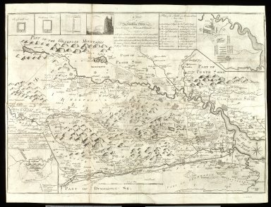 A map of Stirlingshire from a Survey by William Edgar in 1745, [1 of 1]