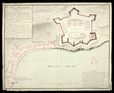 Plan of Fort Charlotte at Lerwick in Shetland No. 2 Jany. 1783 [1 of 1]
