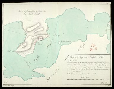 Plan of the Bay called Brassa-Sound [i.e. Bressay Sound] [copy] [1 of 1]