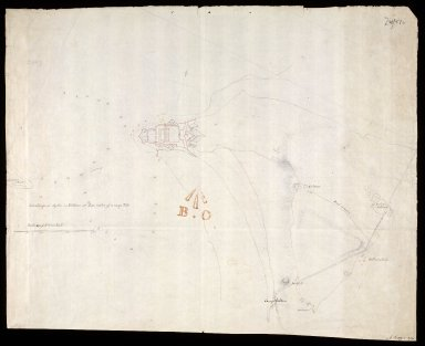 [Sketch of the Ground about Fort George 1785] [copy] [1 of 1]