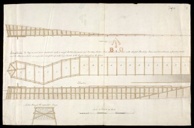 [Plan of the Pier Fort George] [copy] [1 of 1]