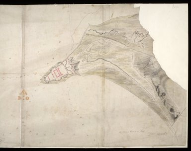 [Map of the Moray Firth showing Ardersier Point and Fort George, and Chanonry Point, Fortrose and Rosemarkie] [1 of 2]
