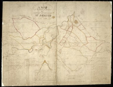 A Map of the lands of her Grace the Dutches of Buccleuch at Dalkeith and East Park [1 of 1]