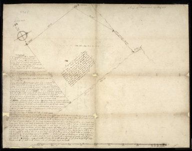 Map of Drogan coal 19 May 1710 [1 of 1]