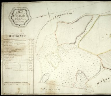 A Plan of the Farm of Culman Belonging to the Right Hon. The Earl of Stair [1 of 2]