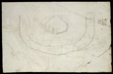 [Sketch plans of unidentified fortifications; Nos. 1-5] [3 of 5]