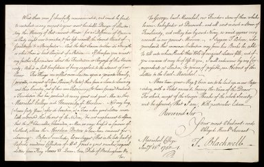 [Letter from Thomas Blackwell, Marischal College, to Bishop Robert Keith, 15 January 1750] [2 of 2]