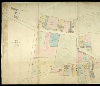 Plan of the Village of Paxton [1 of 2]