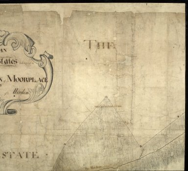Plan of the Estates belongin to James Gordon of Moorplace Esqr. lying in the County of Aberdeen [2 of 9]