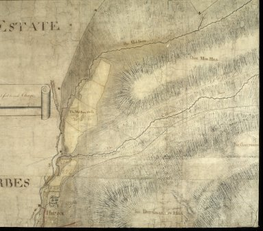 Plan of the Estates belongin to James Gordon of Moorplace Esqr. lying in the County of Aberdeen [4 of 9]