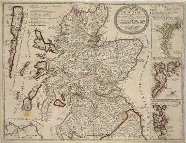 Le Royaume D'Escosse Divise en deux Parties, Subdivisees en Provinces etc. [1 of 1]