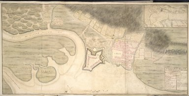 A Plan of Fort William and Mary Burgh at Inverlochy in Lochabor 1725 [1 of 1]