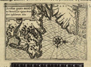 Scotiae pars maxi=me borealis, & regione Orca=dum insularum Sita. [1 of 1]