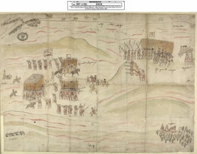 [View of the Battle of Carberry Hill, 15 June 1567] [1 of 1]