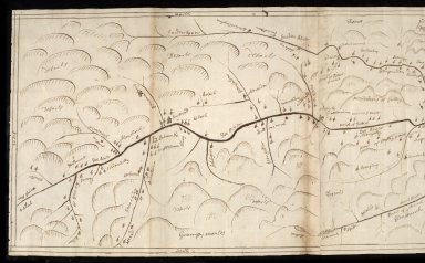 Map of the five parishes above Colblean [2 of 2]