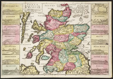 CARTE NOUVELLE D'ECOSSE [1 of 1]
