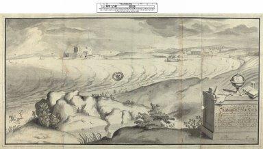 Veue du Coste Occidental du Chateau de Blackness [1 of 1]