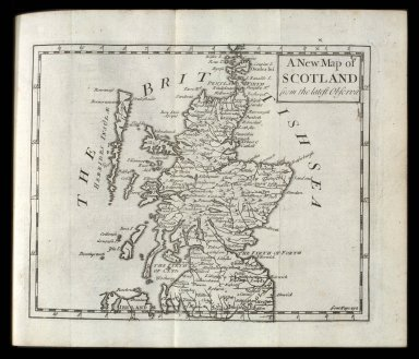 A New Map of SCOTLAND from the latest Observa. [1 of 1]