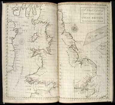 A Chart Describing Part Of The Coast of Great-Britain, From the South Foreland to Berwick. [1 of 1]