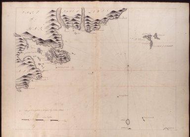 [Part of Lewis, & Harris, Loch Tarbet, Glass Island, & Islands of Schant. Adair.] [1 of 1]