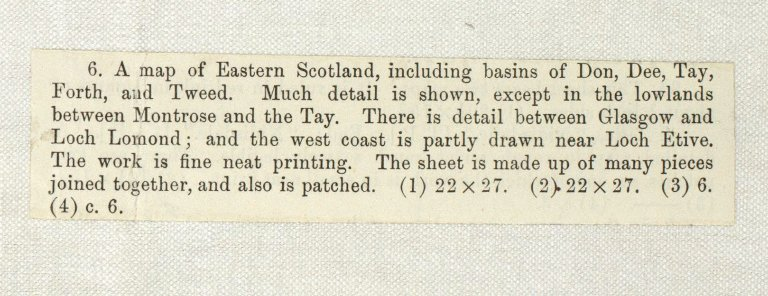 [A map of Eastern Scotland, including basins of Don, Dee, Tay, Forth, and Tweed] [1 of 4]